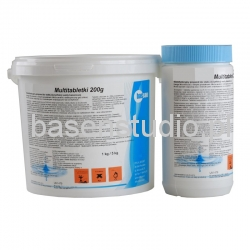 CHLOR MULTITABLETKI 200 G / 1 KG